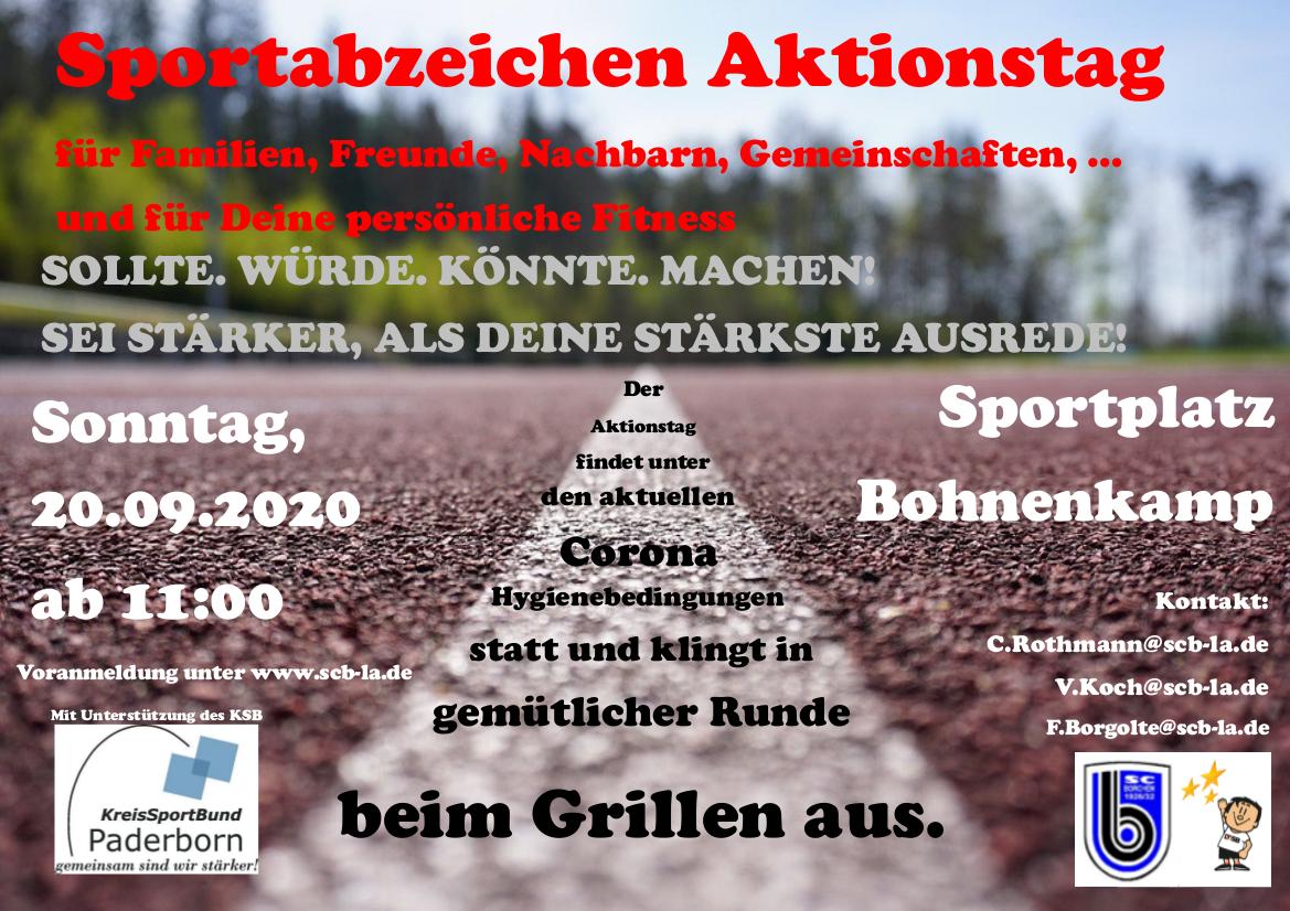 Sportabzeichenaktionstag 2020