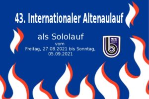 43. Internationaler Altenaulauf als Sololauf